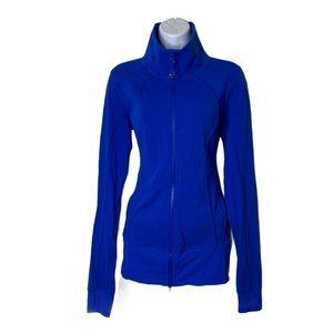 Lululemon royal blue zip up size 8